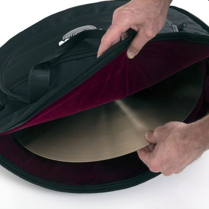 Standard Cymbal Bag open