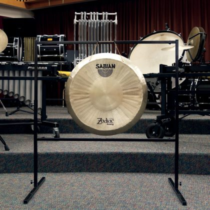 Large gong stand with SABIAN gong