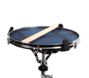 Quiet Tone Practice Pad fitted on snare stand
