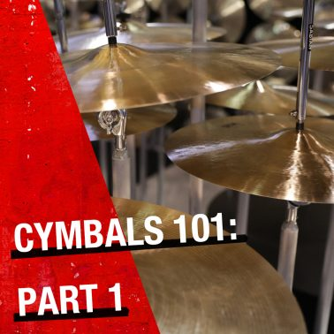 The Beginner Series: Cymbals 101