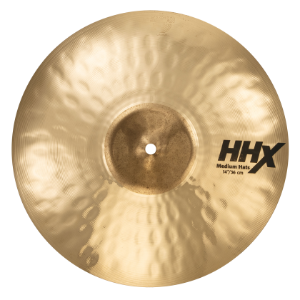 "14"" HHX Medium Hats BR."