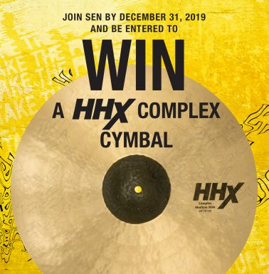 Win a SABIAN HHX Cymbal and Grow Your Student Roster