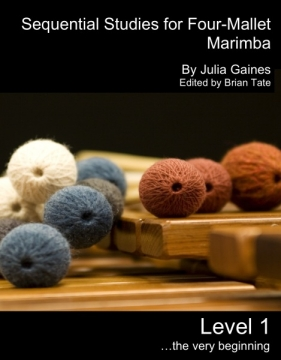 New Four-mallet Method Book From Julia Gaines