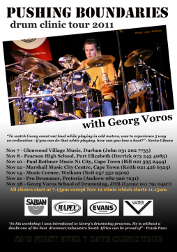 Pushing Boundaries Clinic Tour With Georg Voros