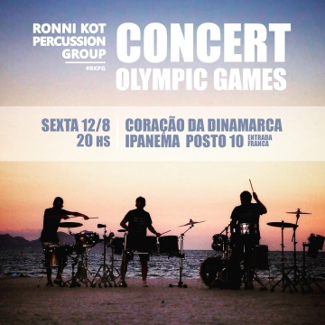 Ronni Kot Percussion Group Plays The Olympics