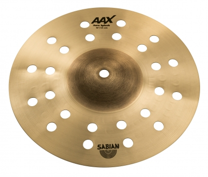 SABIAN Builds Effects Choices With Aax Aero Splash
