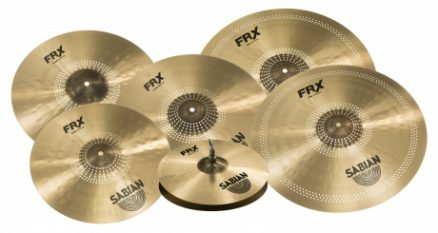 SABIAN Introduces New Frequency Reduced Cymbal Series Frx