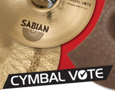 SABIAN Set To Announce Cymbal Vote Winners At Namm Show