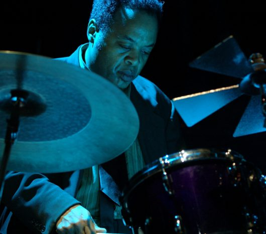 "Jeff ""Tain"" Watts playing cymbals"