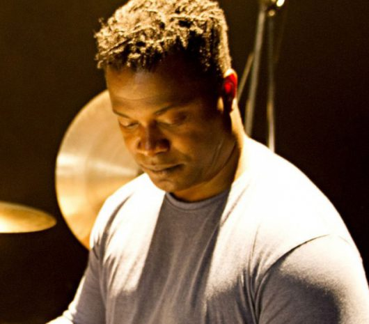Jonathan Joseph playing cymbals
