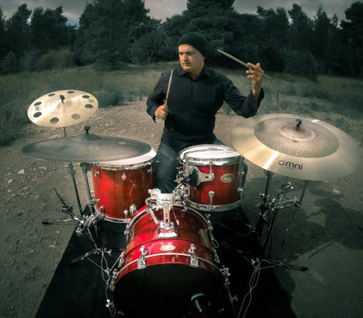PANOS VASSILOPOULOS playing cymbals