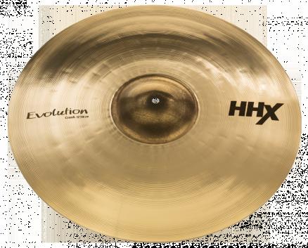 """19"""" HHX Evolution Crash Brilliant Finish"""
