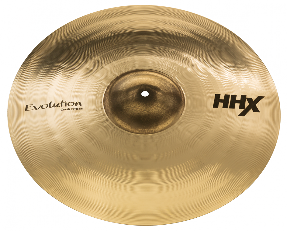 "19"" HHX Evolution Crash Brilliant Finish"