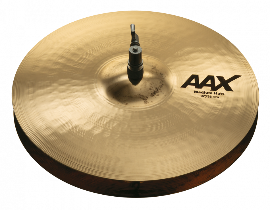 "14"" AAX Medium Hats Br."