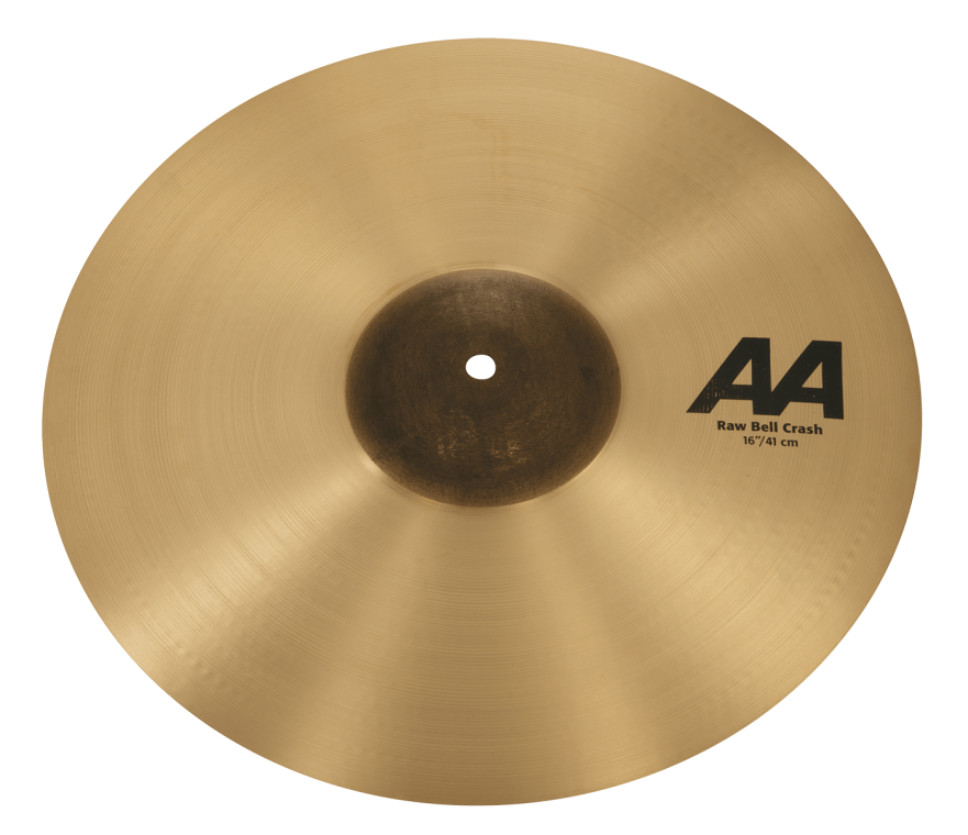 "16"" AA Raw Bell Crash"