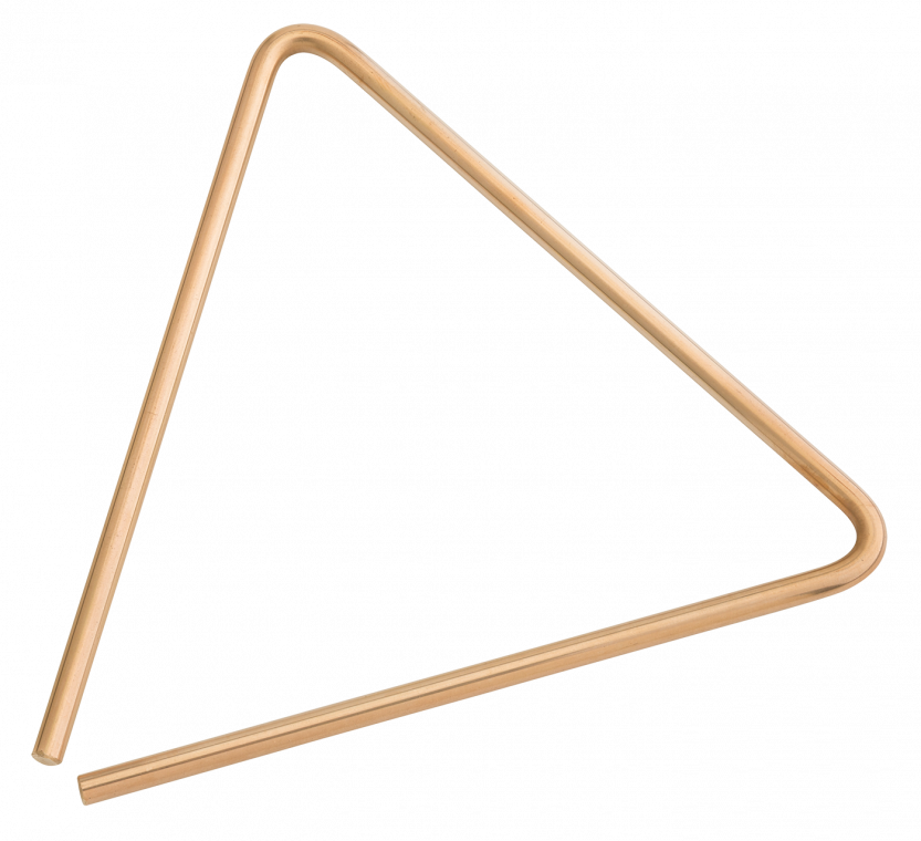 "10"" B8 Bronze Triangle"