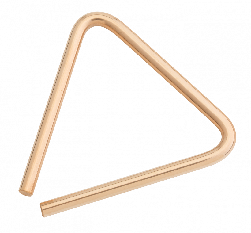 "5"" B8 Bronze Triangle"