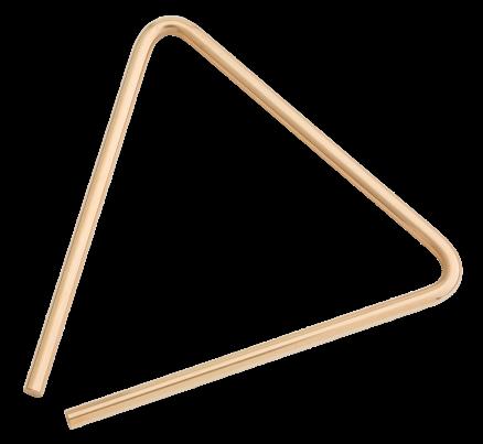 "8"" B8 Bronze Triangle"