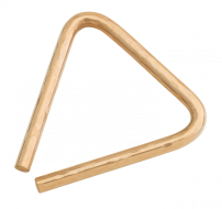 "4"" Hand Hammered B8 Bronze Triangle"