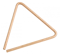 "8"" Hand Hammered B8 Bronze Triangle"